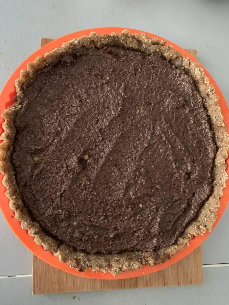 Poppy seed tart without baking