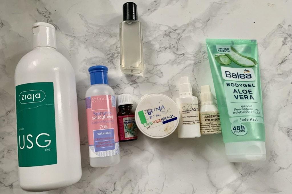 Antibacterial hand gel - home diy