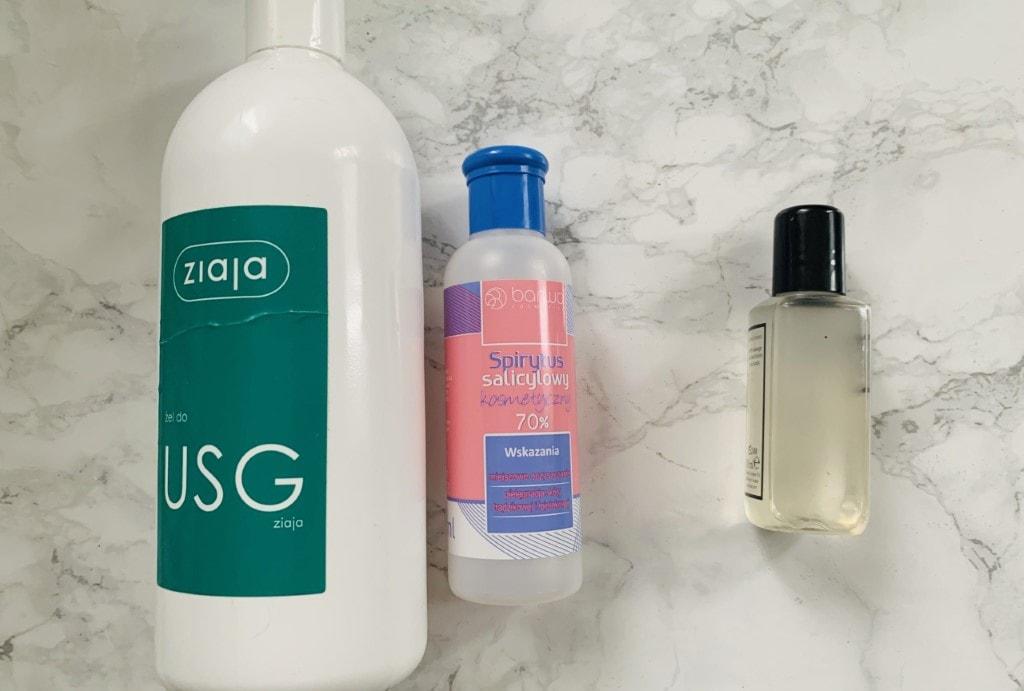 Antibacterial hand gel - home