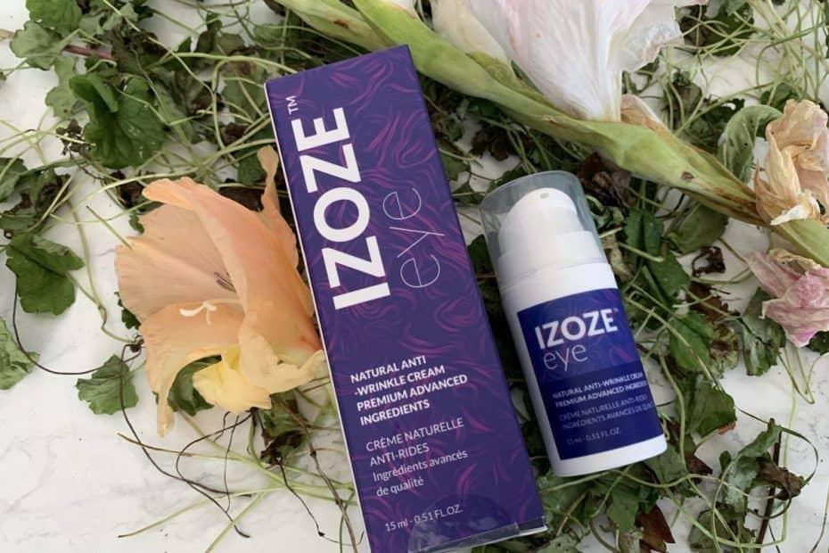 Izoze Eye, a natural eye cream with a great composition